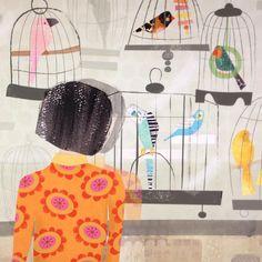 "- Amy Schimler-Safford (@schimlersafford) on Instagram: ""New print in my Etsy shop. Link on my website, web address in my profile. #illustration…"""
