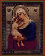 Madonna Enthroned Religious Art by Christian Art
