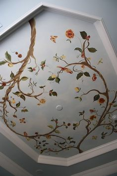 a mural idea I'd like to see on your ceiling when I'm over for a coffee.