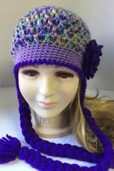 Yarn colors are super Yarn Colors, Baby Hats, Crochet Hats, Girls, Fashion, Knitting Hats, Moda, Daughters, Fashion Styles