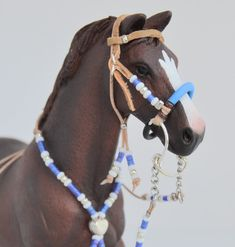 Western headstall BRIDLE with hackamore and rhythm by Maestozo