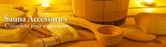 Sauna Accessories- Complete your experience #saunas.com
