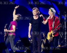 The Rolling Stones in concert at Ciudad Deportiva, Havana, Cuba - 25 Mar 2016  Ronnie Wood, Mick Jagger and Keith Richards of the Rolling Stones 25 Mar 2016