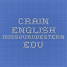 crain.english.missouriwestern.edu