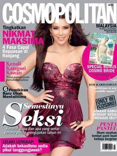Cosmopolitan Malaysia, May 2011 #KimKardashian