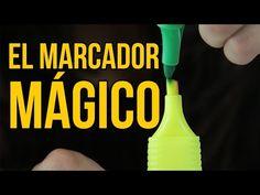 El truco del marcador mágico - Vuelta al Cole (Experimentos para niños) - YouTube