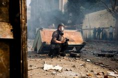 French photographer Remi Ochlik is seen in this picture taken in Cairo, Egypt, on November Fotojournalismus, Digital Foto, Global Conflict, Photoshop, 28 Years Old, French Photographers, Photo Story, New Age, Syria