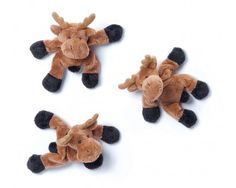 "Teddykompaniet 4"" Animals with Magnets, Moose 7003 $6.75 For One"