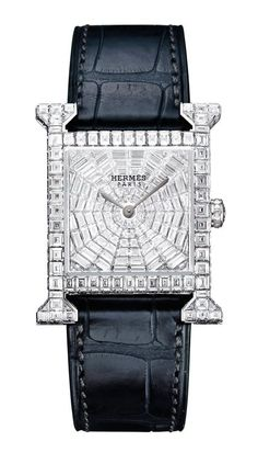 ddfdc7c751e2 -Hermes H-our Diamond watch/ fine jewelry. Dream Watches, Luxury Watches