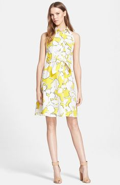 Diane+von+Furstenberg+'Tenner'+Floral+Print+Shirtdress+available+at+#Nordstrom