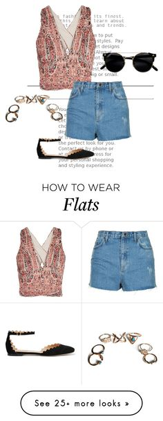 """""""Untitled #1404"""" by agnesegundega on Polyvore featuring Alice + Olivia, Topshop and Chloé"""