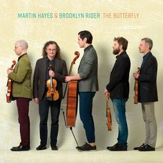 """East-Clare traditional Irish fiddler Martin Hayes and New-York-based classical quartet Brooklyn Rider find common ground between the two traditions with """"The Butterfly"""" released on 9 August 2019 last. Brooklyn, John Cage, String Quartet, Irish Traditions, Folk Music, Concert Hall, Boy Bands, Music Videos, Butterfly"""