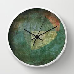 Trem Noturno Para Lisboa (Night Train to Lisbon) Wall Clock by Fernando Vieira