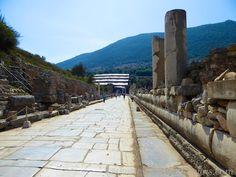 Marble Street of Ephesus, Turkey