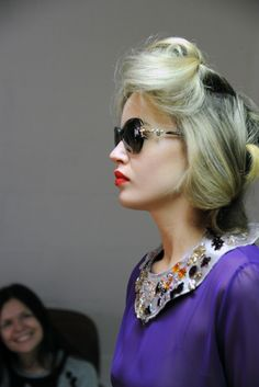 Behind the scenes from the Sunglass Hut campaign shoot with Georgia May Jagger.