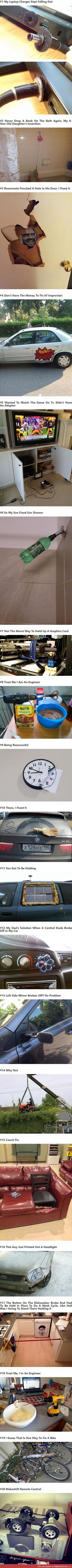 20 Times Engineers Showed Us How to Fix Everyday Things