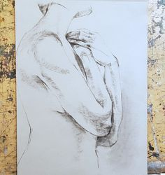 20 minutes pose, 20 minutes drawing Drawing by Yulia Chubotin Drawing Drawing, Figure Drawing, Poses, Drawings, Art, Figure Poses, Art Background, Kunst, Sketches