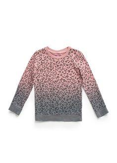 MANGO KIDS - FILLE - HAUTS - Sweat-shirt léopard effet dégradé