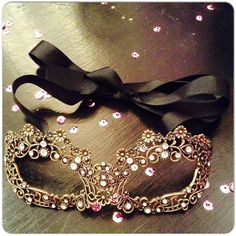 Masquerade Ball mask embellished with crystals #stunningottawa