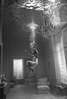 from time to time, you need to drown yourself.