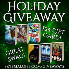 Skye Malone's Holiday Giveaway