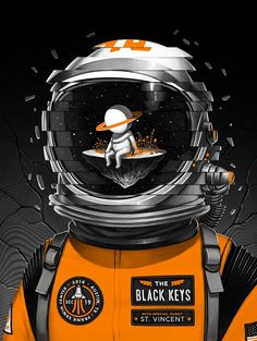 Mike Mitchell - Black Keys poster