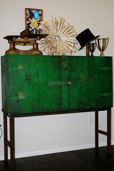 Repurposed Industrial Machinist's Cabinet Turned by rustmagnet, $400.00