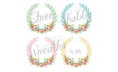 Free_Shabby_Chic_Digital_Wreaths_FPTFY_2