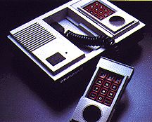 Still have our old Intellivision. Oh, how I loved Burger Time and Bump 'n Jump.