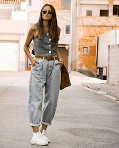 date outfit fall casual Summer Dress Outfits, Basic Outfits, Casual Dress Outfits, Mode Outfits, Jeans Outfit Winter, Winter Fashion Outfits, Look Fashion, Casual Chic Summer, Slouchy Pants
