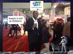 Keepin it chill at CES2015 #CES2015 #PixeSocial