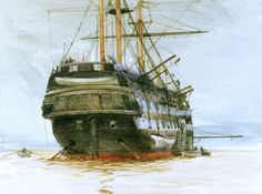 H.M.S. Cornwall: National Maritime Museum