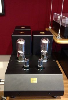 Audio Note amplifier with some serious valves