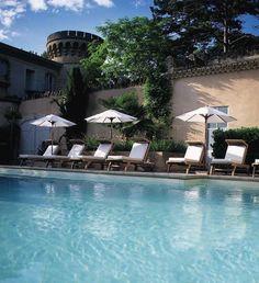 chateau de massillan...13 room hotel in provence