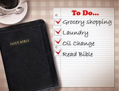 Another Word For To Do List Endearing Snatching Time With God  Bible Verses And Truths
