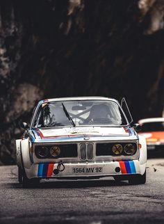 1973 BMW 3.0 CSL | E9 | Coupe Sport Leichtbau | Coupe Sport Lightweight | 1st Project of BMW Motorsport | 2 Door Sports Coupe | 3.0L Straight 6 340hp | Top Speed 270 kph 168 mph | Nickname Batmobile...