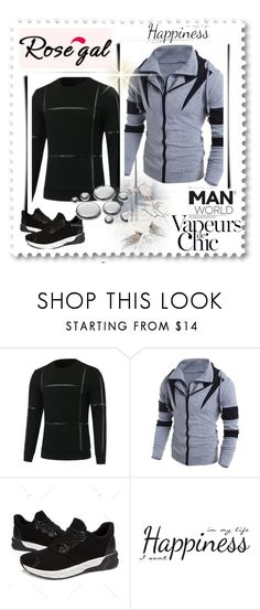"""Men´s Fashion"" by mala-653 ❤ liked on Polyvore featuring Anja, York Wallcoverings, men's fashion and menswear"