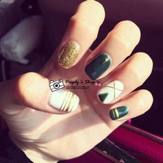 Born pretty store quality nail art beauty lifestyle products cheap tools knife buy quality bride style directly from china tool nail suppliers fashion green bottom gold glitter line design false nails simple short prinsesfo Images