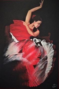 Ballerina di flamengo