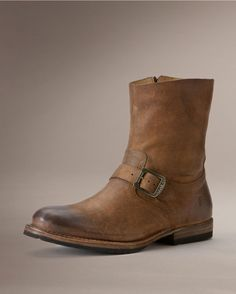 Frye Men's Jake Engineer Boot - Tan
