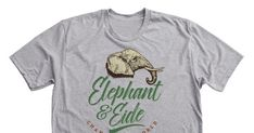 Save Elephants - Help elephants. Help endangered species. By purchasing one of these shirts you can do something!10% of the profits will go to World Wildlife Fund. the rest will be going...
