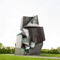 Architectura - Filip Dujardin stelt tentoon in States met architectonische fictie