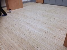 Sanding wood floor  - After Sanding - Cambridge