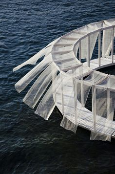 pavilion architecture Antiroom II is a floating island on the sea of Malta, an unreachable surface from the ground, only accessible by swimming or by boat. Floating Architecture, Pavilion Architecture, Landscape Architecture, Interior Architecture, Landscape Design, Tectonic Architecture, Interior Design, Minimalist Architecture, Pavillion