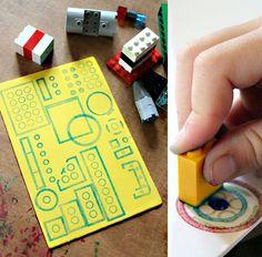 Cool leggo stamping