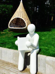 Dedon Nestrest Outdoor Gartenmöbel U2022 Kollektion Nestrest Dedon U2022 Nestrest  Hanging Lounger # The Reader #