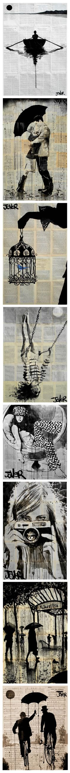 Art by Loui Jover - In Saatchi Online