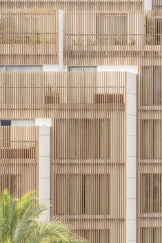 Image 9 of 12 from gallery of Ibiza Gran Hotel Extension / Colmenares Vilata Aquitectos. Photograph by Imagen Subliminal Lake Hotel, Gran Hotel, Hotel Ibiza, Hotel Architecture, Architecture Details, Hotels Around Disneyland, Hotel Floor Plan, Hotel Concept, Hotel Apartment