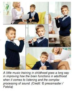 A Little Music Training Goes a Long Way: Practicing Music for Only Few Years in Childhood Helps Improve Adult Brain - Pinned by @PediaStaff. - Please Visit http://ht.ly/63sNt for all our pediatric therapy pins