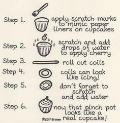 Art Education Daily: Ceramic Lesson Plans: Cupcakes
